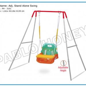 Adj. Stand Alone Swing