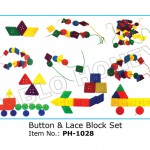 Button and Lace Block Set