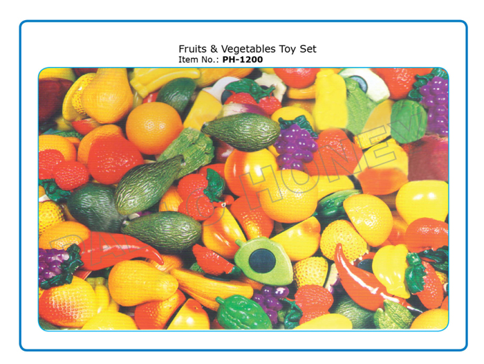 Fruits & Vegetables Toy Set