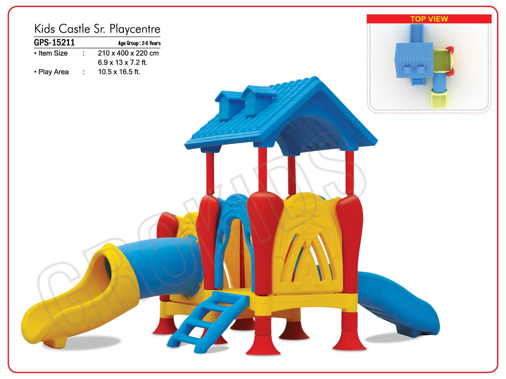 Kids Castle Sr Playcentre Outdoor Station Kidzeduzone