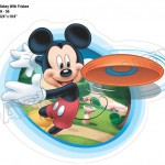 Mickey With Frisbee