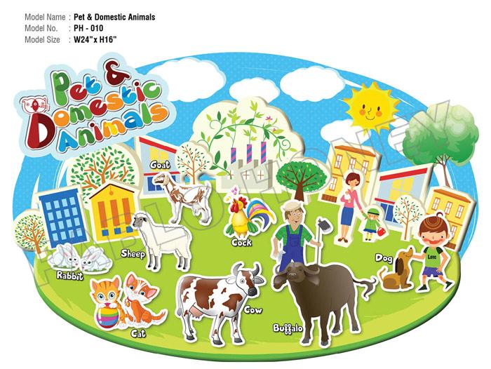 pet and domestic animals cutouts kidzeduzone