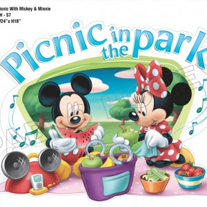 Picnic With Mickey and Minnie