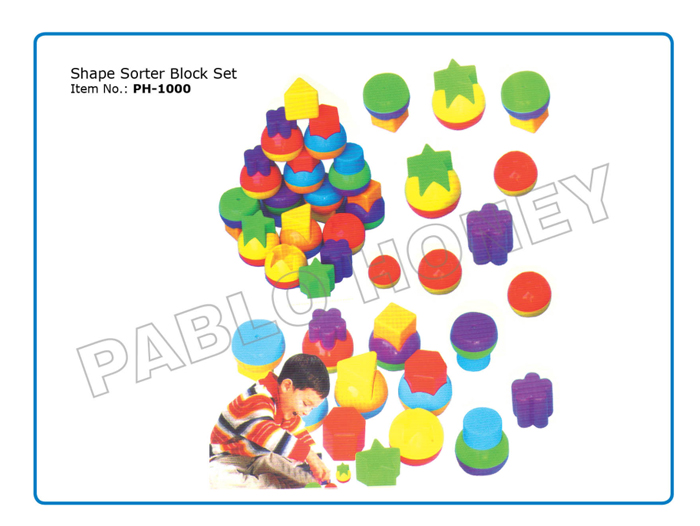 Shape Sorter Block Set