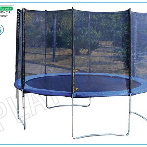 Trampoline 168 (With Safety Net)