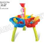 Water Sand and Clay Deluxe Toy Set
