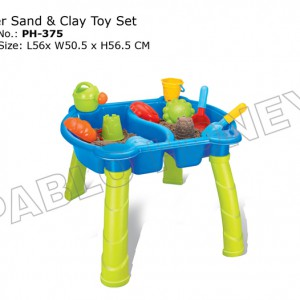 Water Sand and Clay Toy Set