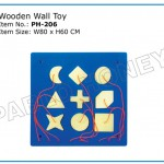 Wooden Wall Toy