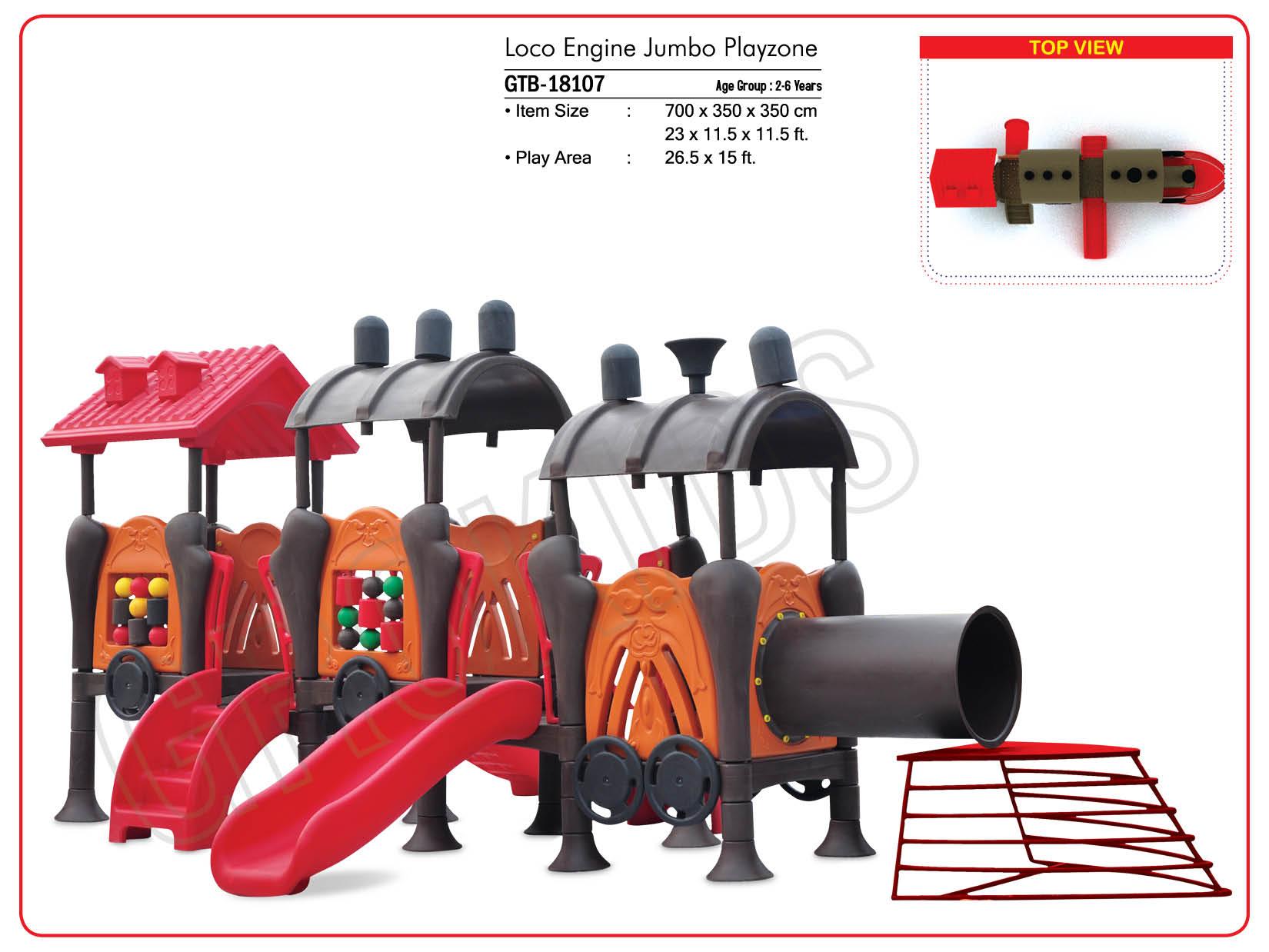loco Engine Jumbo Playzone